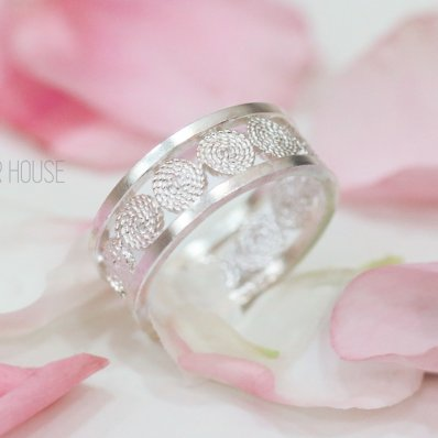 Round Filigree Ring